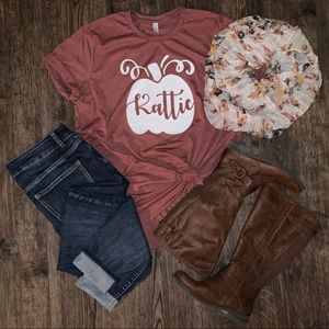 Personalized Pumpkin Shirt
